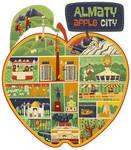 Apple City by sergeymaltsev