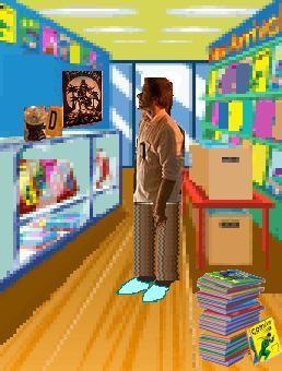 Homage to Dexter Tv scene
