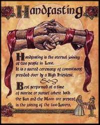 'Unbreakable Vow': HandFasting