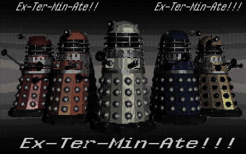 The Daleks! by ladyevel
