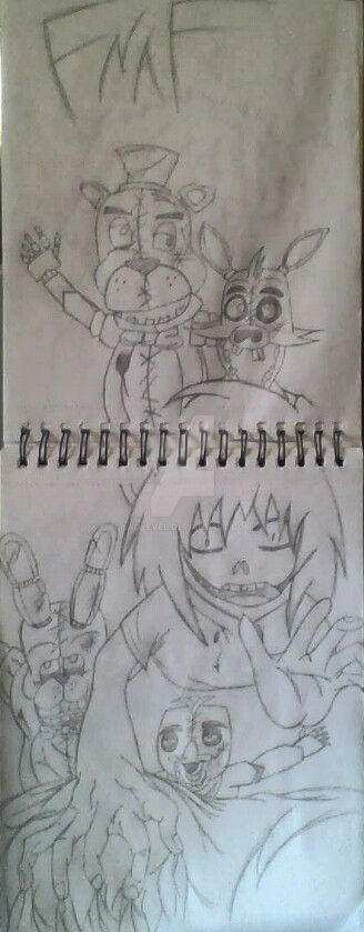 Jeff The Killer/ Five Nights At Freddy's by ladyevel