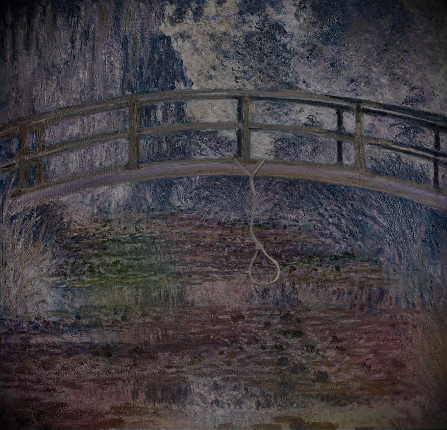 The Final Bridge, the Spirit Pond by ladyevel