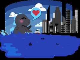 Lil' Godzilla Wants to Play, #1