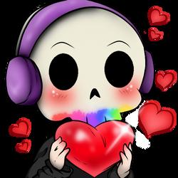 [REDRAW] Love Twitch Emote