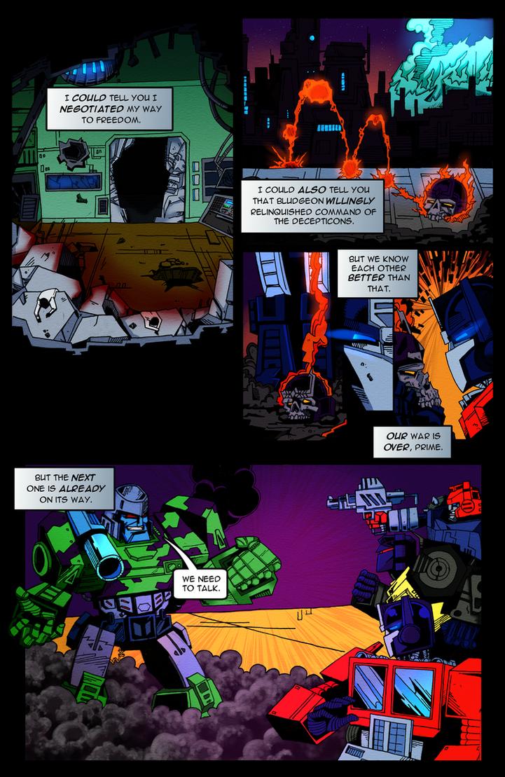 Transformers: Revolver - Reversion by Rh1n0x
