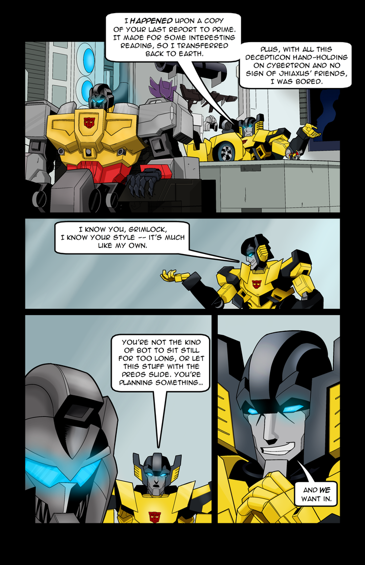 Rise of the Maximals - #1 - Page 8 by Rh1n0x