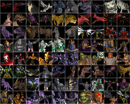 Beast Wars 20th Anniversary Images