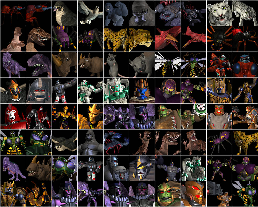 Beast Wars 20th Anniversary Images by Rh1n0x