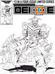 Transformers: Deicide - Issue #3 Cover