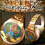 Custom Egyptian Headphones by BreannaKayEvans