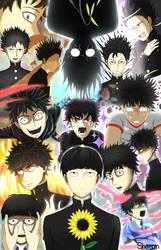 Mob Psycho 100 - Kageyama Shigeo by TenthLover