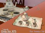 Tea Service Set for XPS