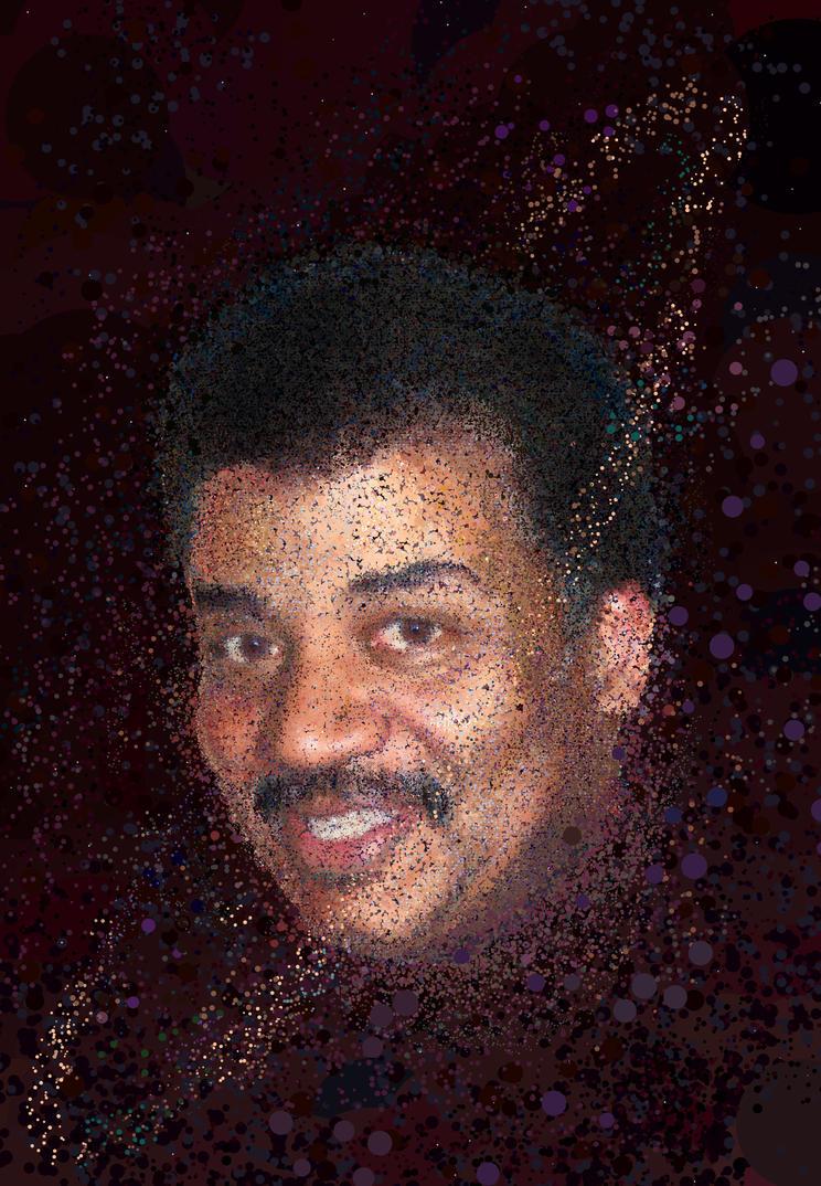 Neil Degrasse Tyson by erikfoxjackson
