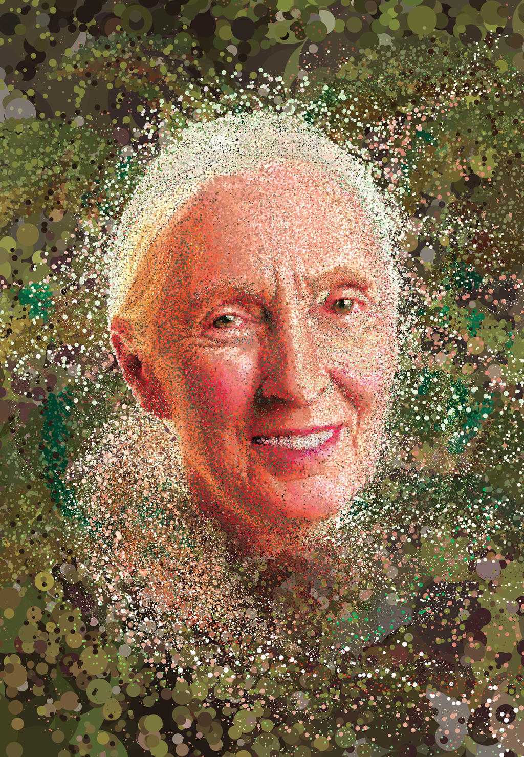Jane Goodall by erikfoxjackson