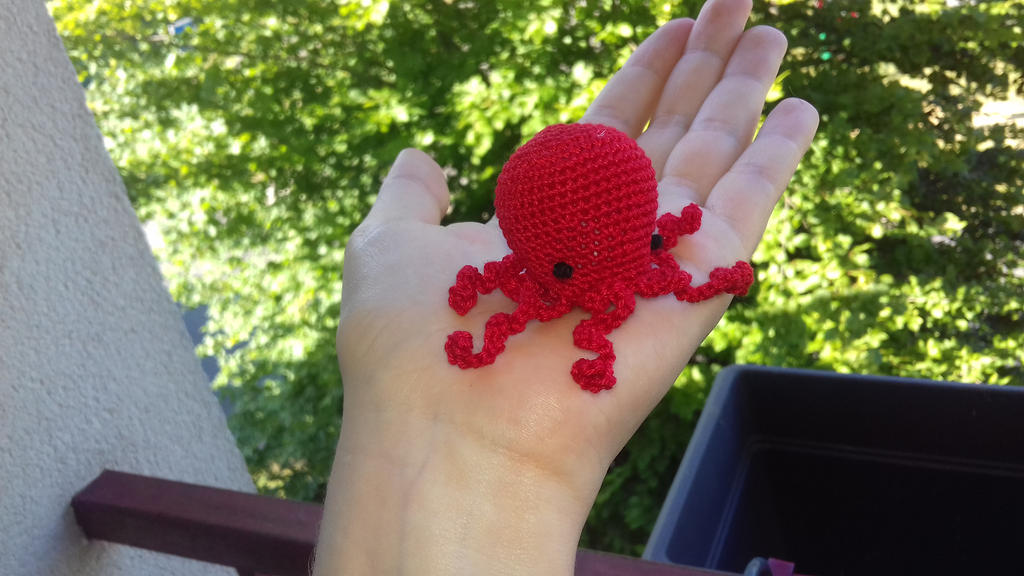 Mini poulpe by ABDCrochet