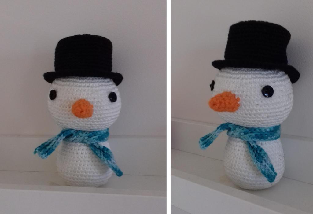 Bonhomme de neige by ABDCrochet