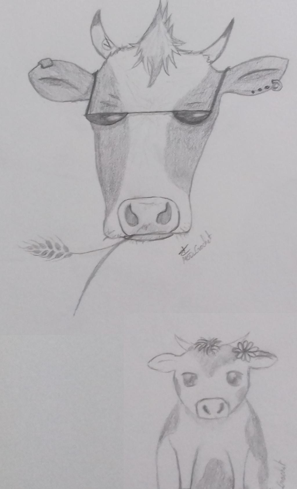 Vache by ABDCrochet