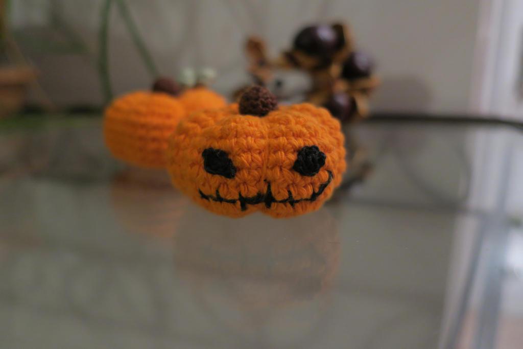 Halloween Pumpkin - Jack'O Lantern by ABDCrochet