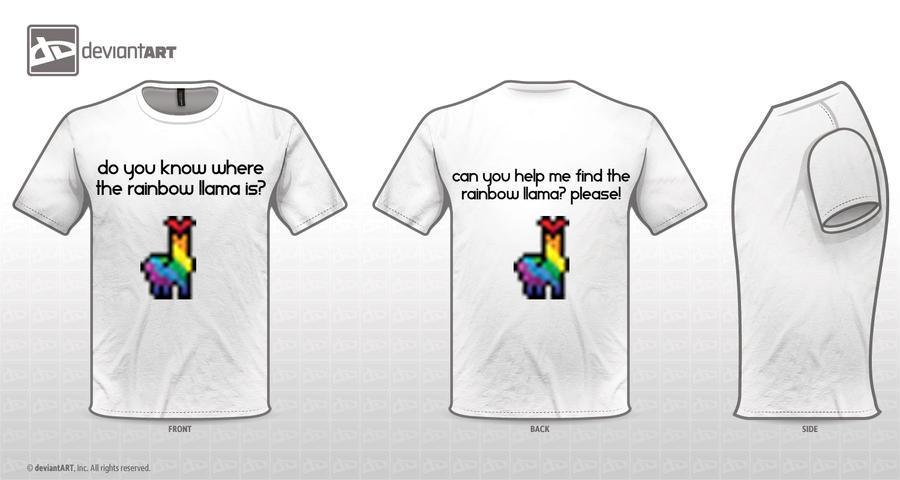 Find the Rainbow Llama by lag111