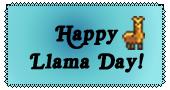 Happy Llama Day! by lag111