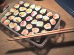 sushi x3