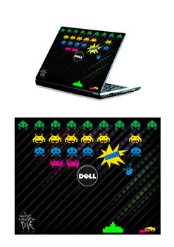 Invaders - Laptop design