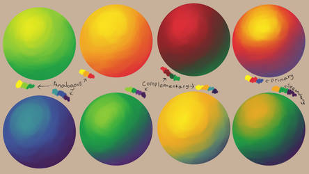 Color Study III Theory by Otis-OKS