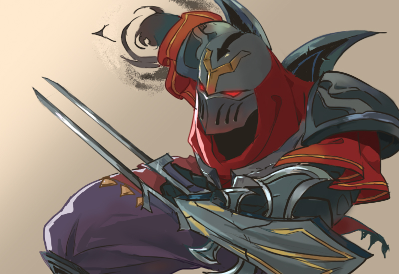 Zed - LoL collab by Artsed on DeviantArt