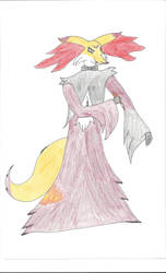 Fancy Delphox