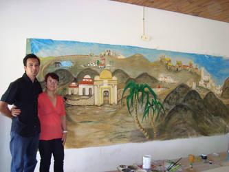 fondo pueblo by SEFERMORT
