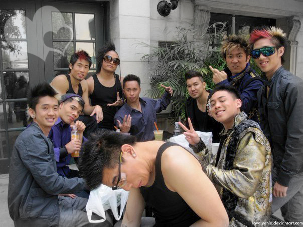 Quest Crew and Poreotics by Lovelyenie on DeviantArt