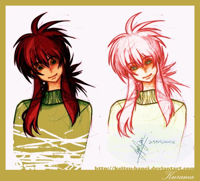 YYH Fanart: Kurama