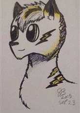 foxie fox by RainbowNado