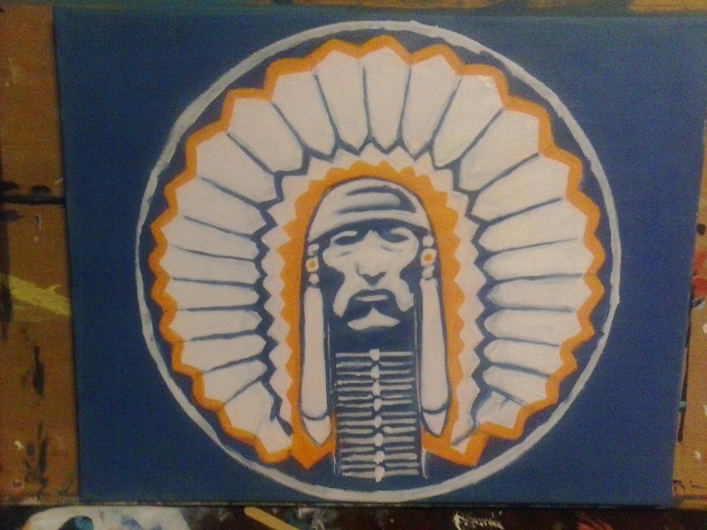 Chief Illiniwek by 0fade