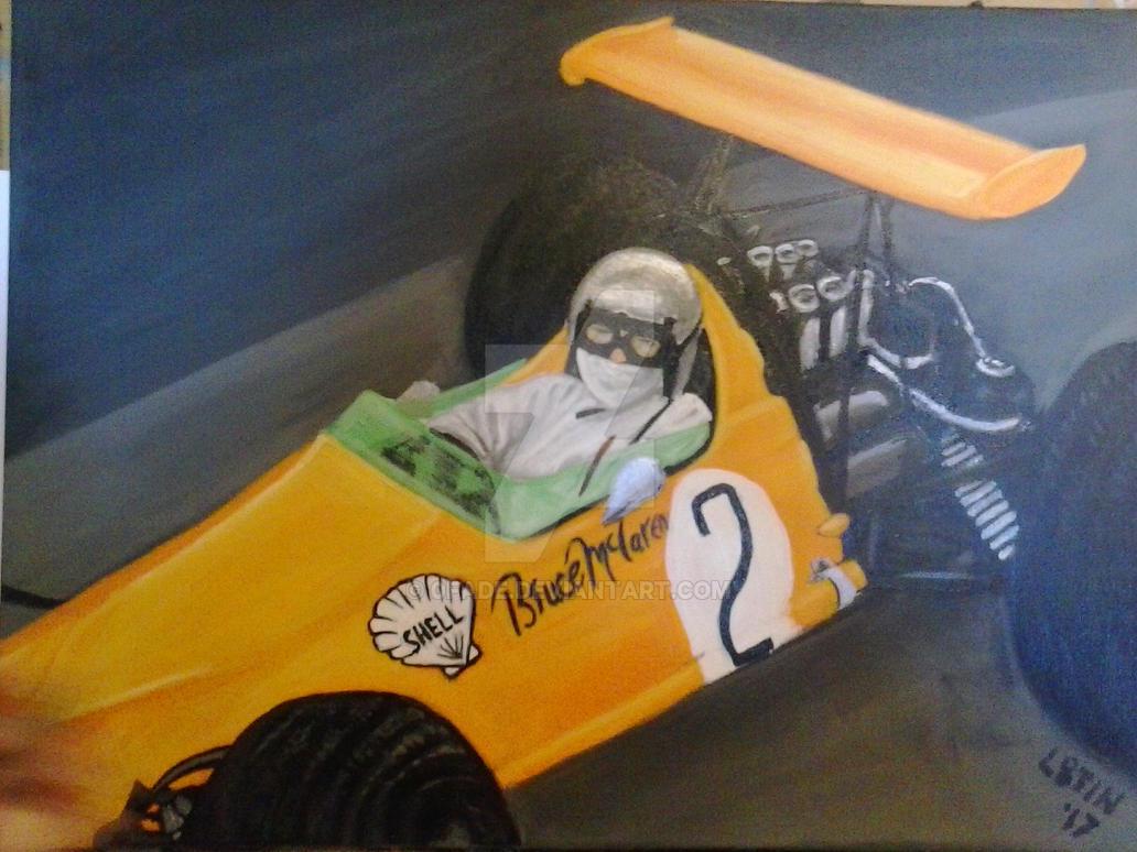 McLaren 0FadBruce McLaren F1 Early Days #2 by 0fade