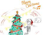 Little Christmas doodle
