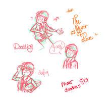 Doodling Marty McFly c: