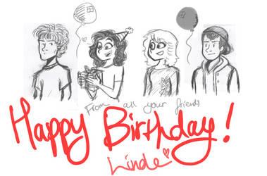 Happy Birthday, Linde!