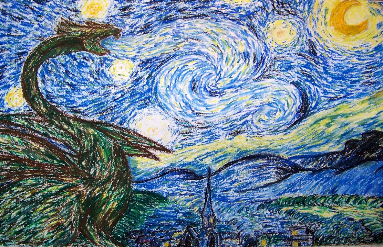 Starry night painting essay
