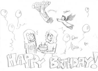 Happy (late) Birthday Alissa!!
