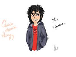 Hiro Hamada - sketch