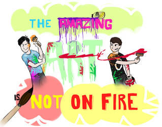 The Amazing Art is Not On Fire