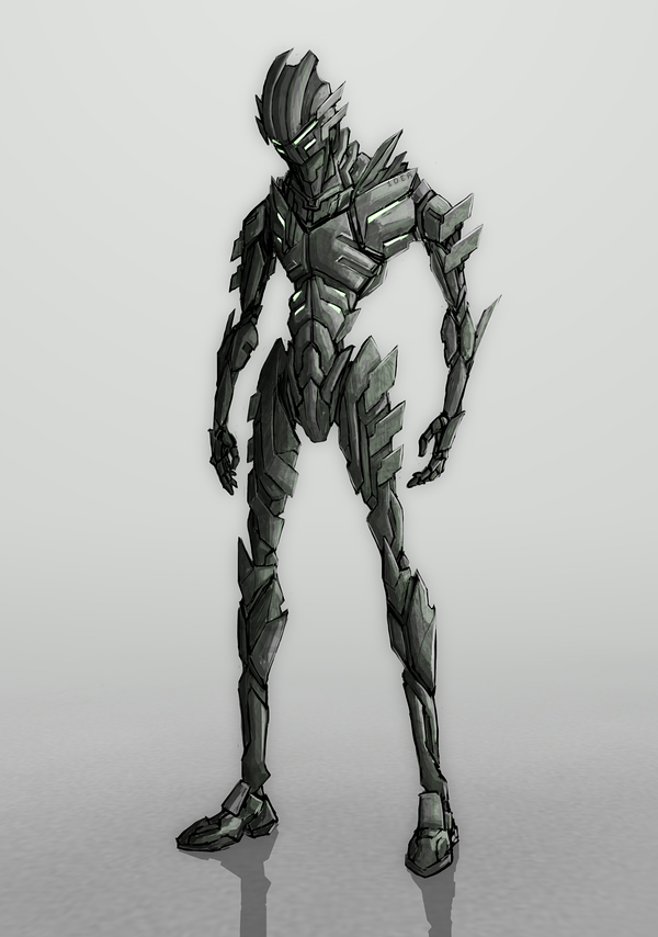 Super cool mecha design 1 by simple1dea on deviantart for Super cool drawings