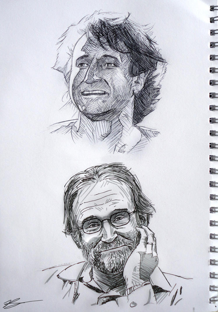 Robin Williams by Simple1DEA