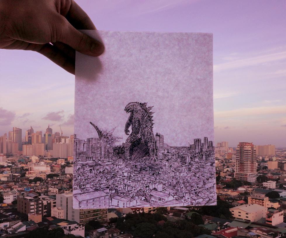 Godzilla by Simple1DEA