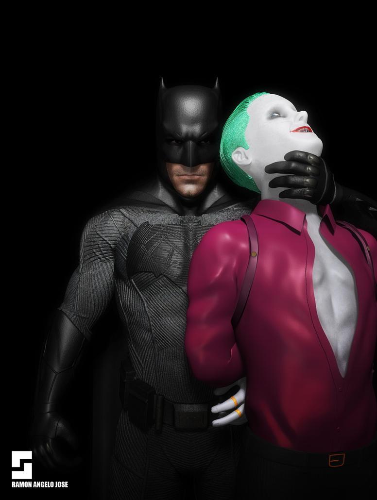 Batman and The Joker by Simple1DEA