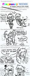 pregnancy meme by pistachioZombie