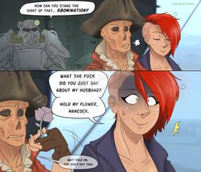 Fallout 4 - Damn Bigots! by pistachioZombie
