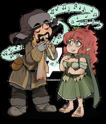 The Hobbit - Bofur and Leanna