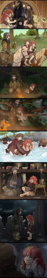 The Hobbit - Leanna and the Company